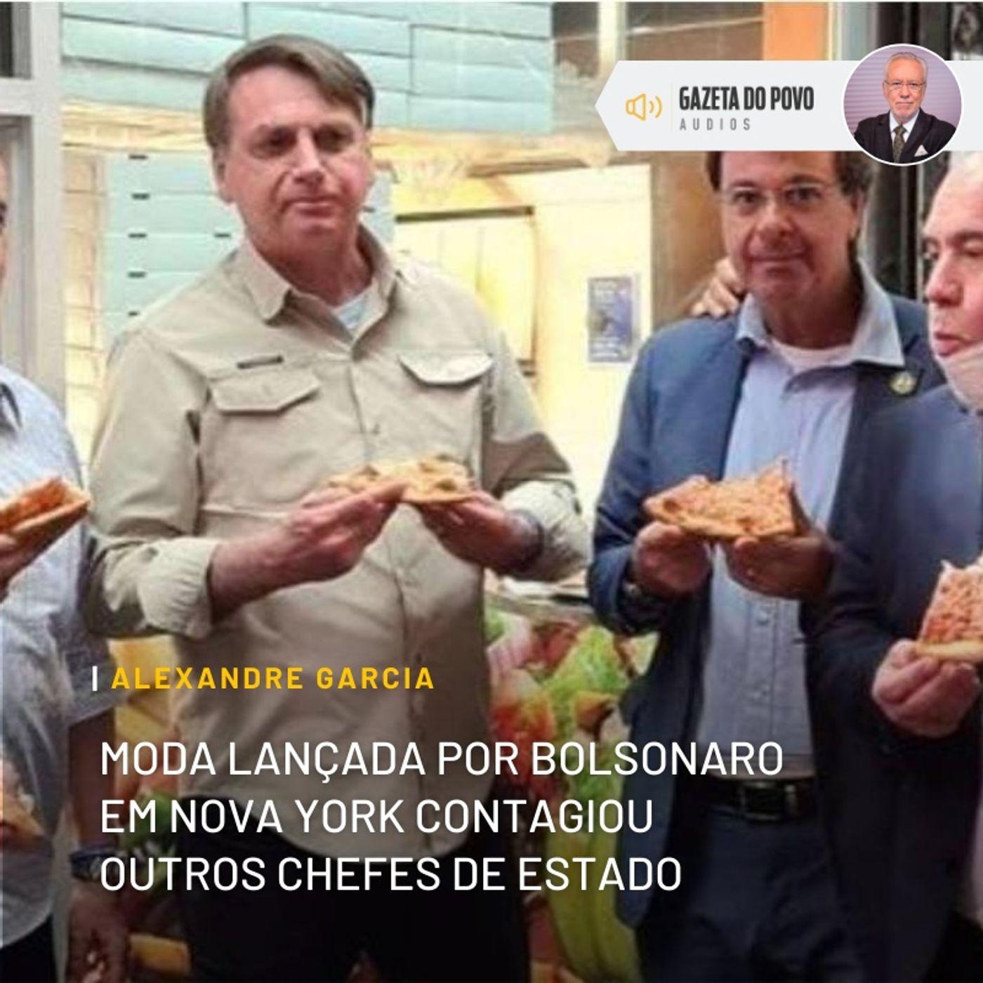 Moda lançada por Bolsonaro em NY contagiou outros chefes de Estado