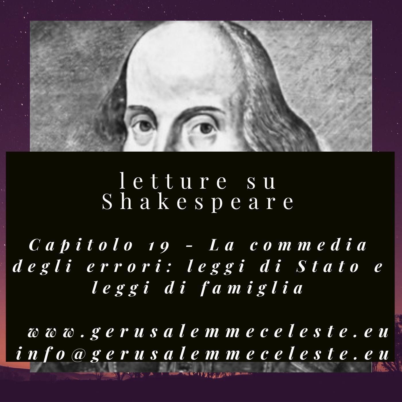 Capitolo 19 - La commedia degli errori: leggi di Stato e leggi di famiglia