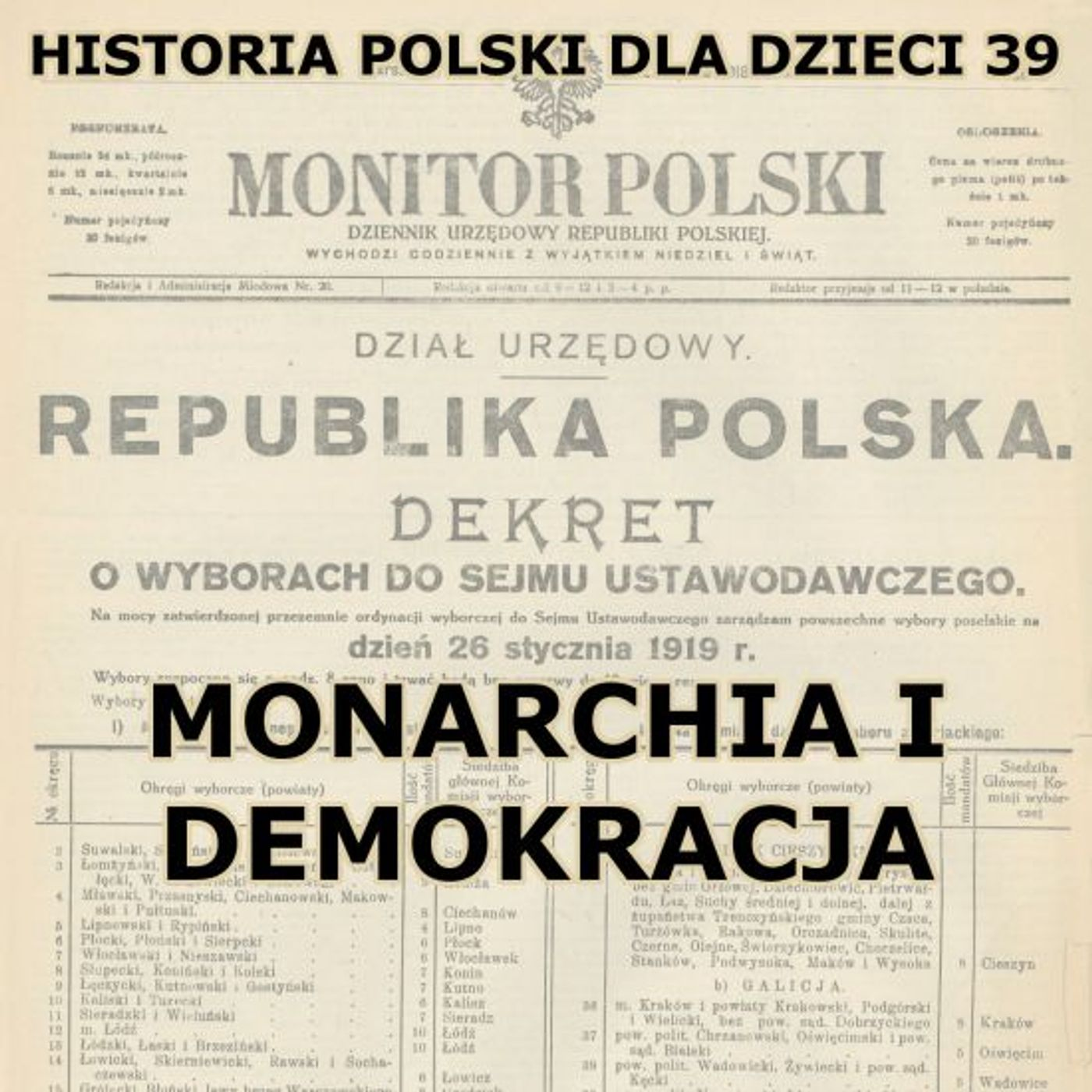39 - Monarchia i demokracja