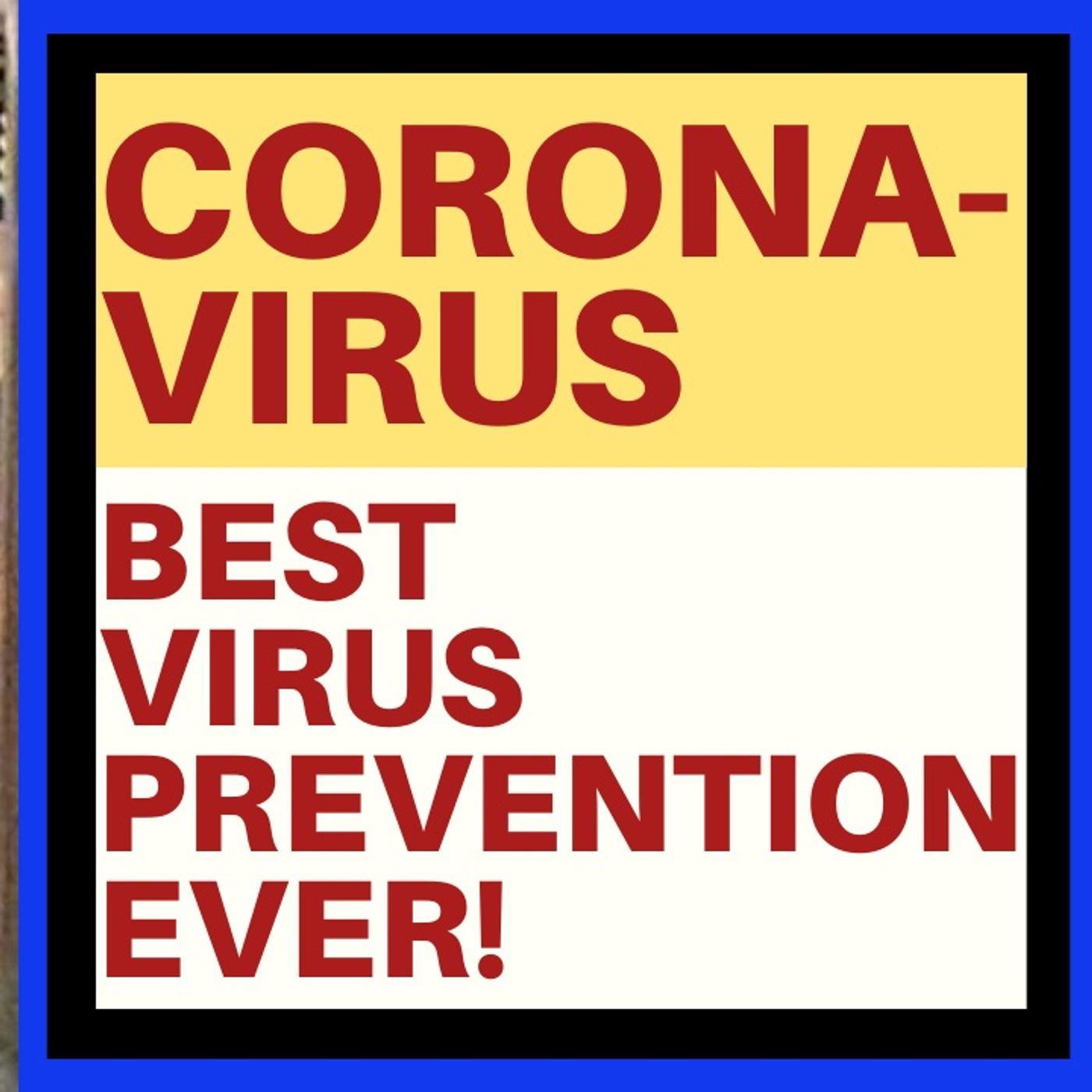FIGHT CORONAVIRUS BY PUTTING A WATER JUG ON YOUR HEAD