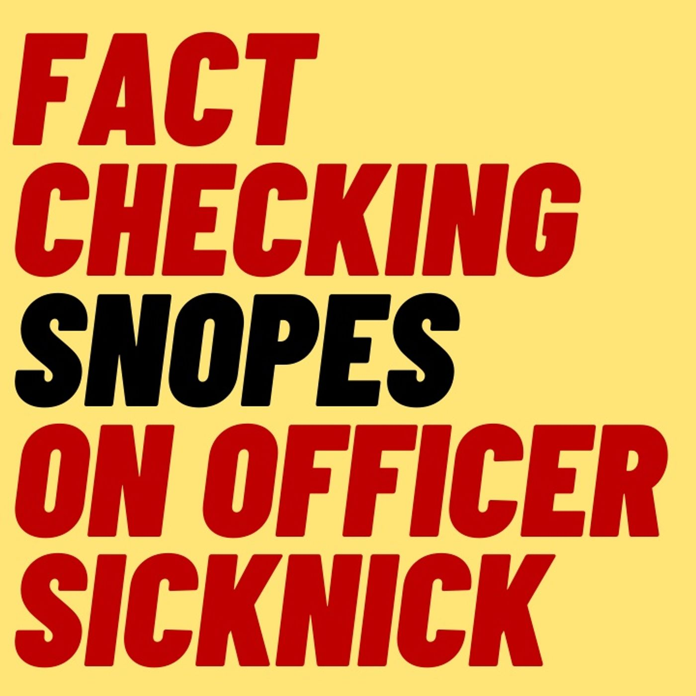 FACT CHECKING SNOPES ON CAPITOL RIOT CLAIM
