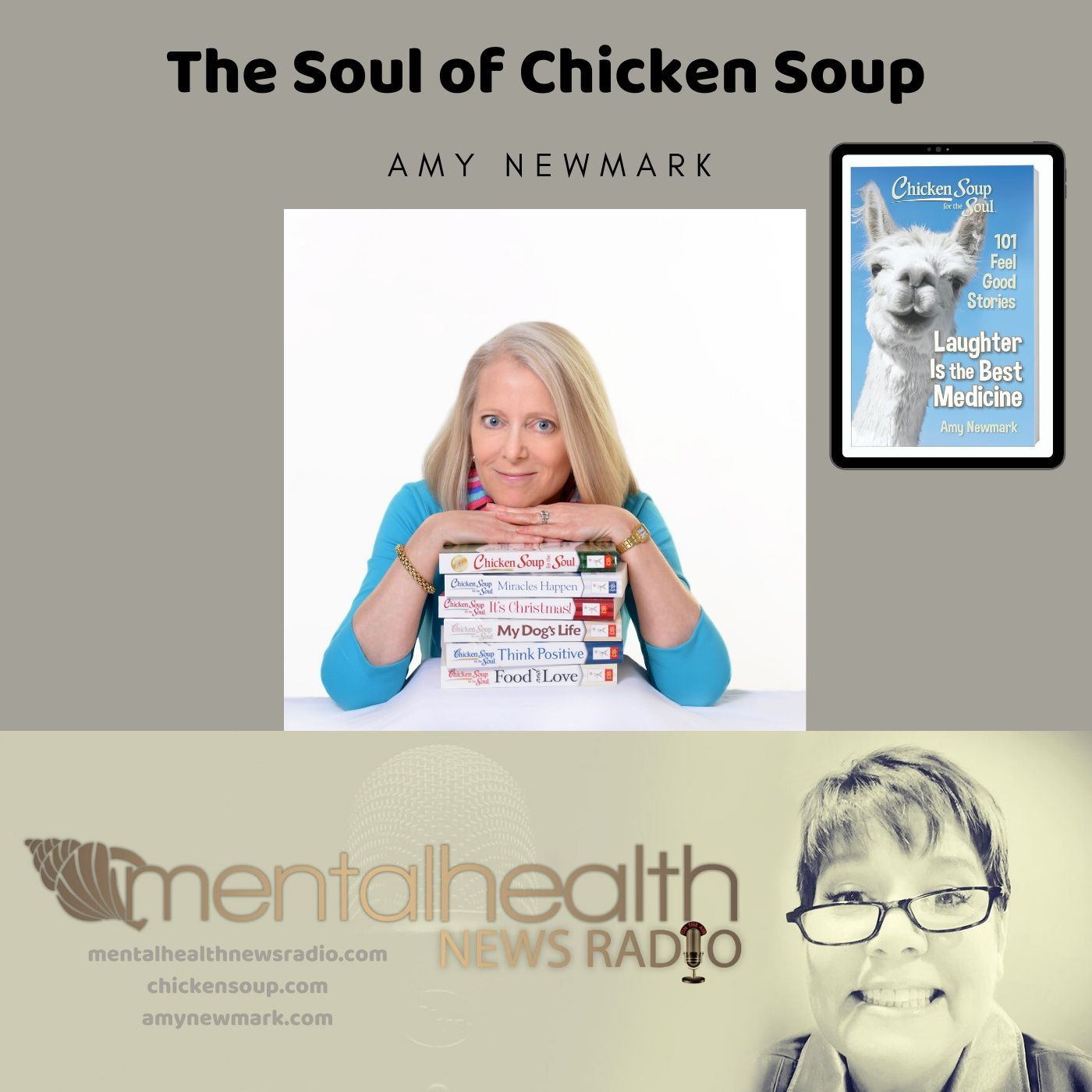 Mental Health News Radio - The Soul of Chicken Soup with Amy Newmark