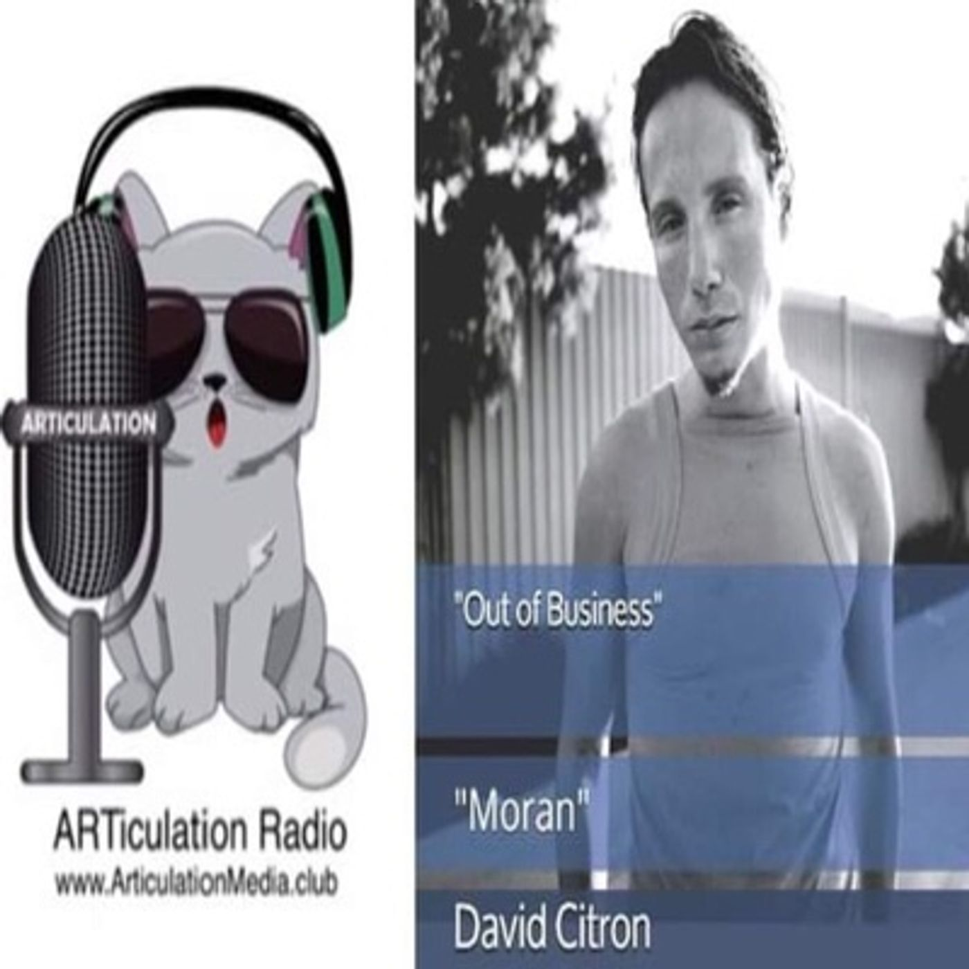 ARTiculation Radio — CUTTING UP & LOOSING YOURSELF (interview w/ Author David Citron)