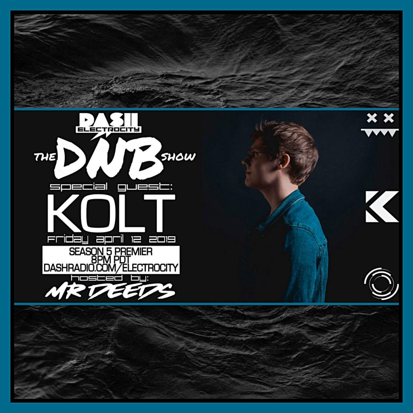 the DNB show Episode 43 (guest mix Kolt)
