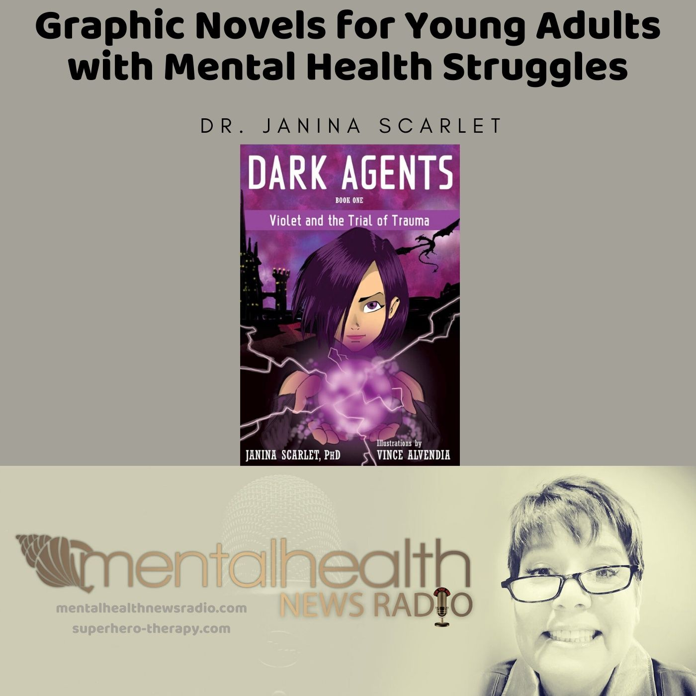 Mental Health News Radio - Graphic Novels for Young Adults with Mental Health Struggles