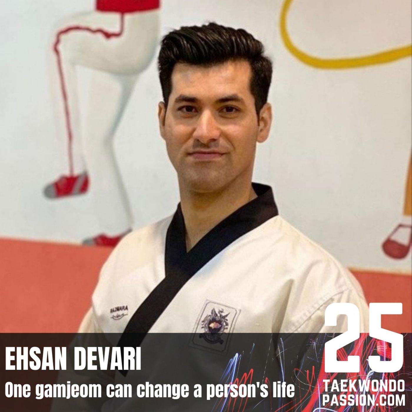 Ehsan Davari: A gamjeom can change a person's life