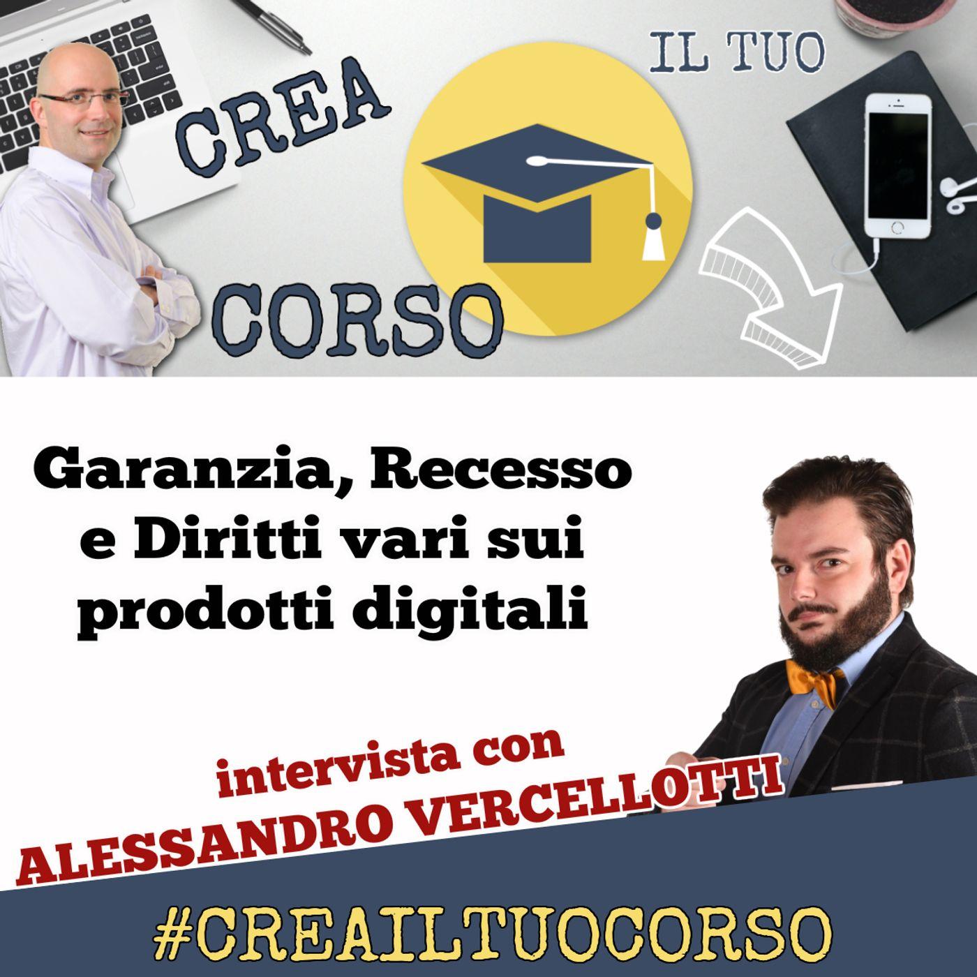 #STORIE 06: Avv. Alessandro Vercellotti (garanzia e rimborso su corsi online e prodotti digitali)