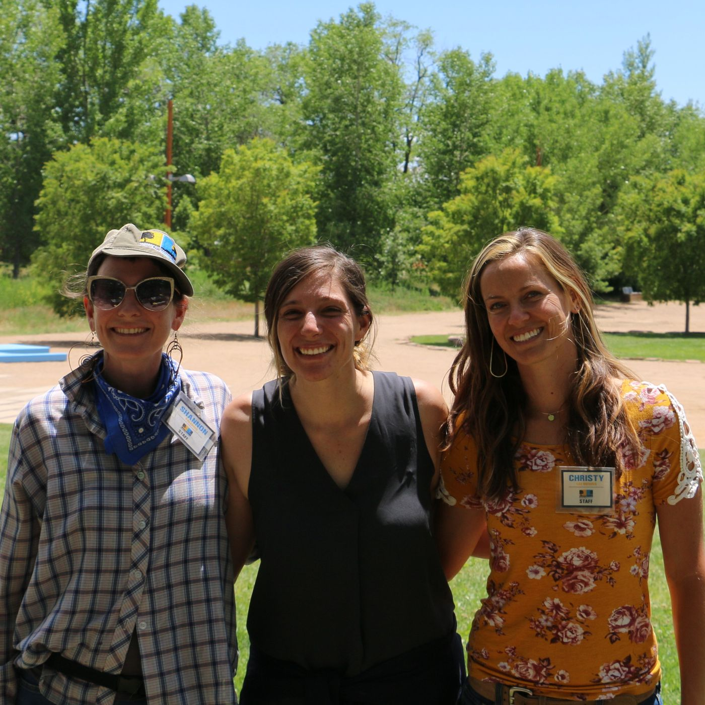 Christy Lee Downs and Rebecca D' Agostine - Railyard Park Conservancy