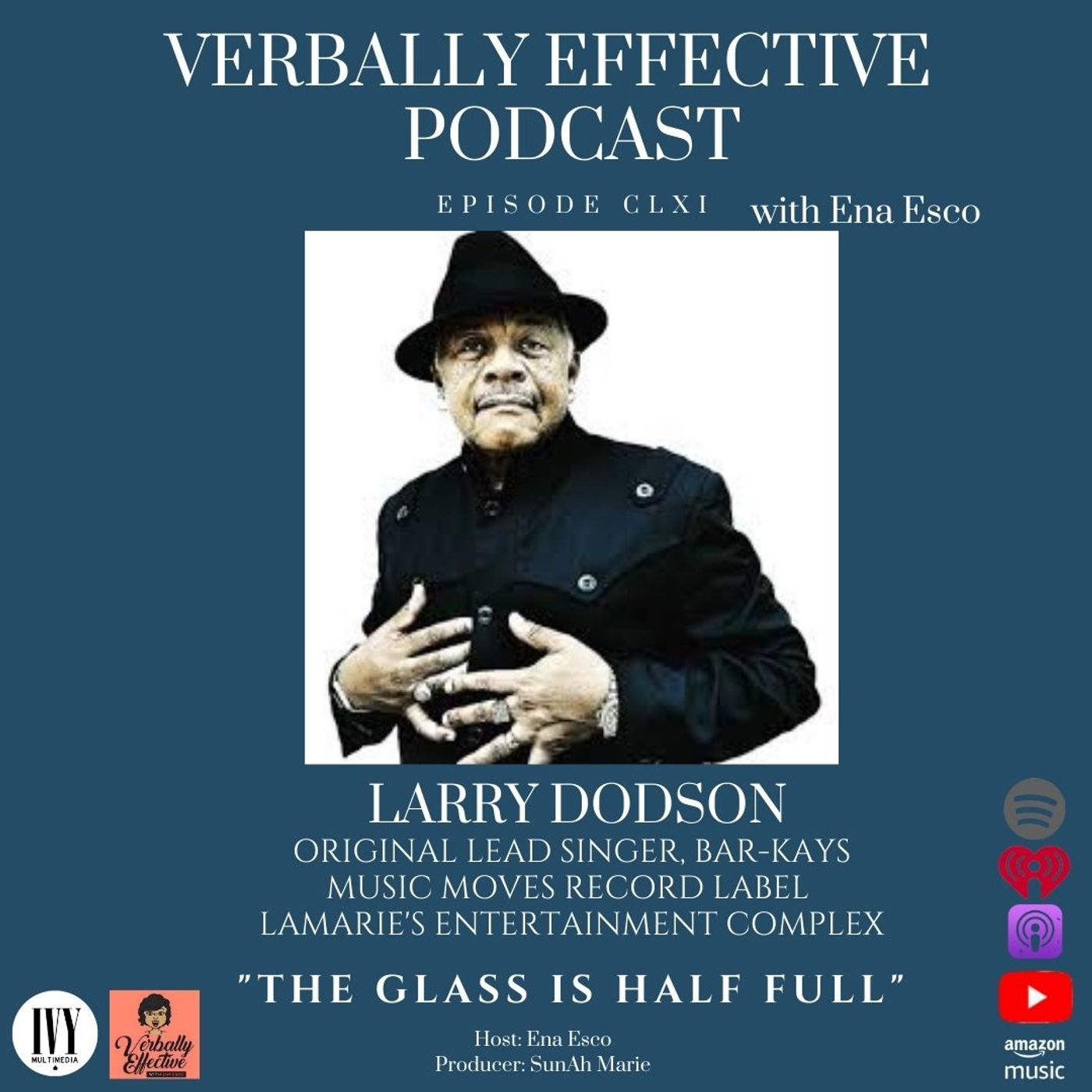 """EPISODE CLXI   """"THE GLASS IS HALF FULL"""" w/ LARRY DODSON"""