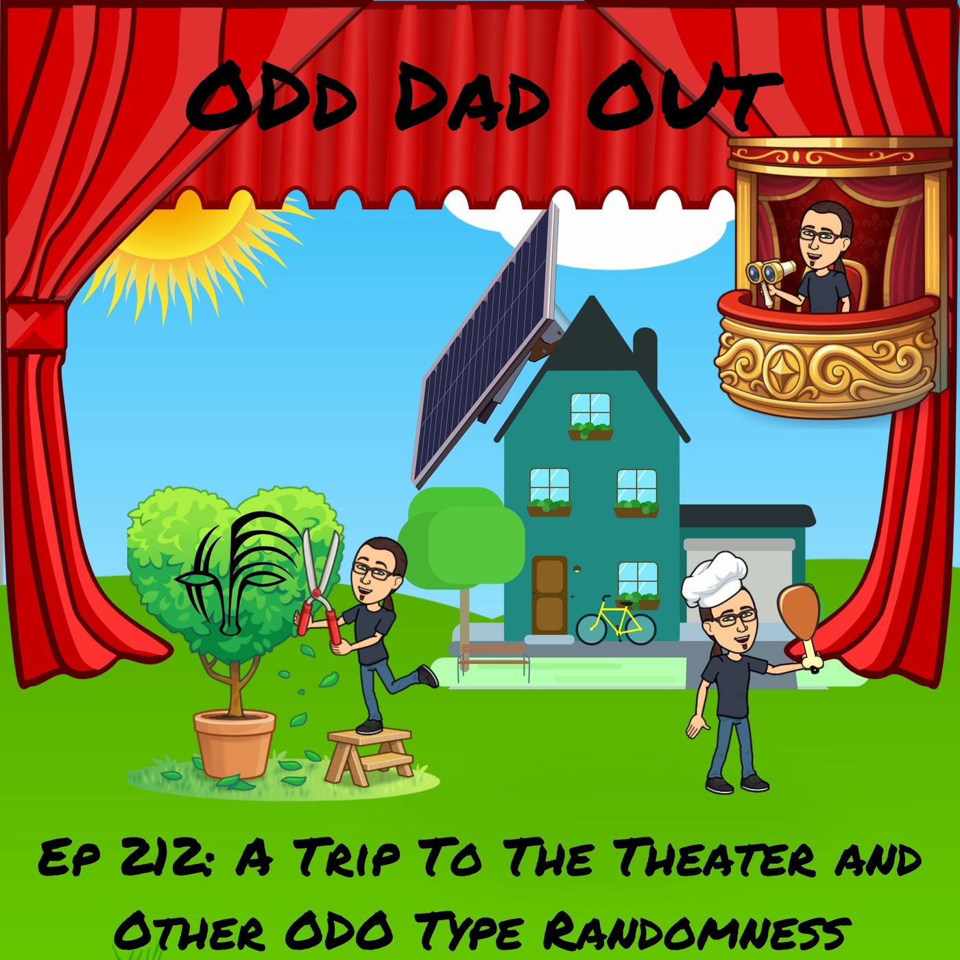A Trip To The Theater and Other ODO Type Randomness: ODO 212