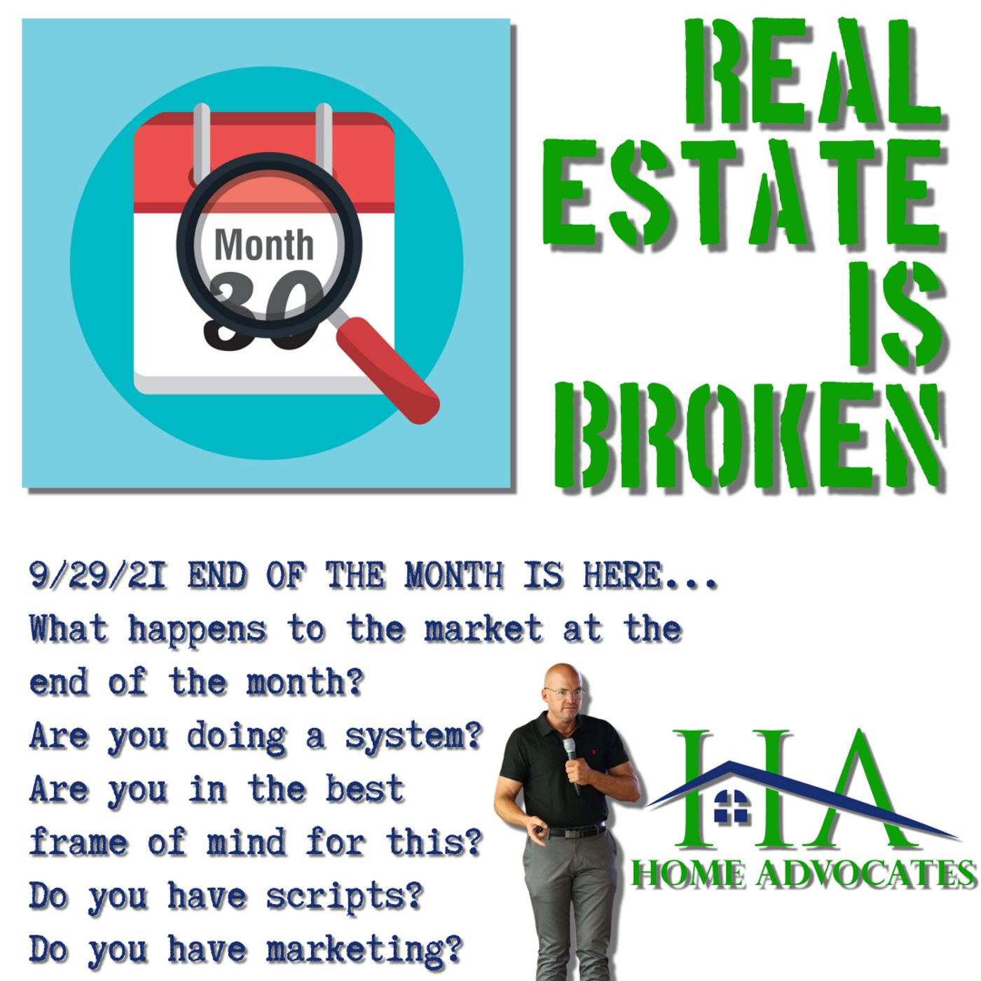 The end of the month | Real Estate Marketing Crash | Credit Reporting | Lee Honish | Home Advocates