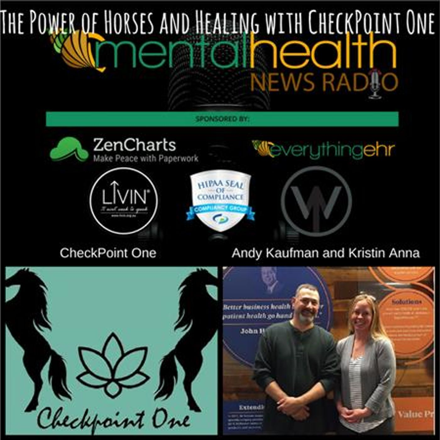 Mental Health News Radio - The Power of Horses and Healing with CheckPoint One
