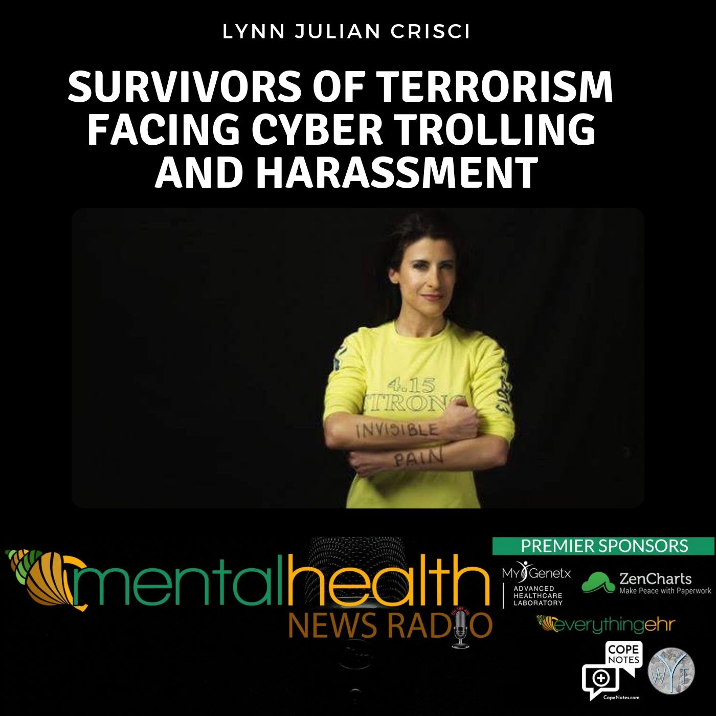 Mental Health News Radio - Survivors of Terrorism Facing Cyber Trolling and Harassment