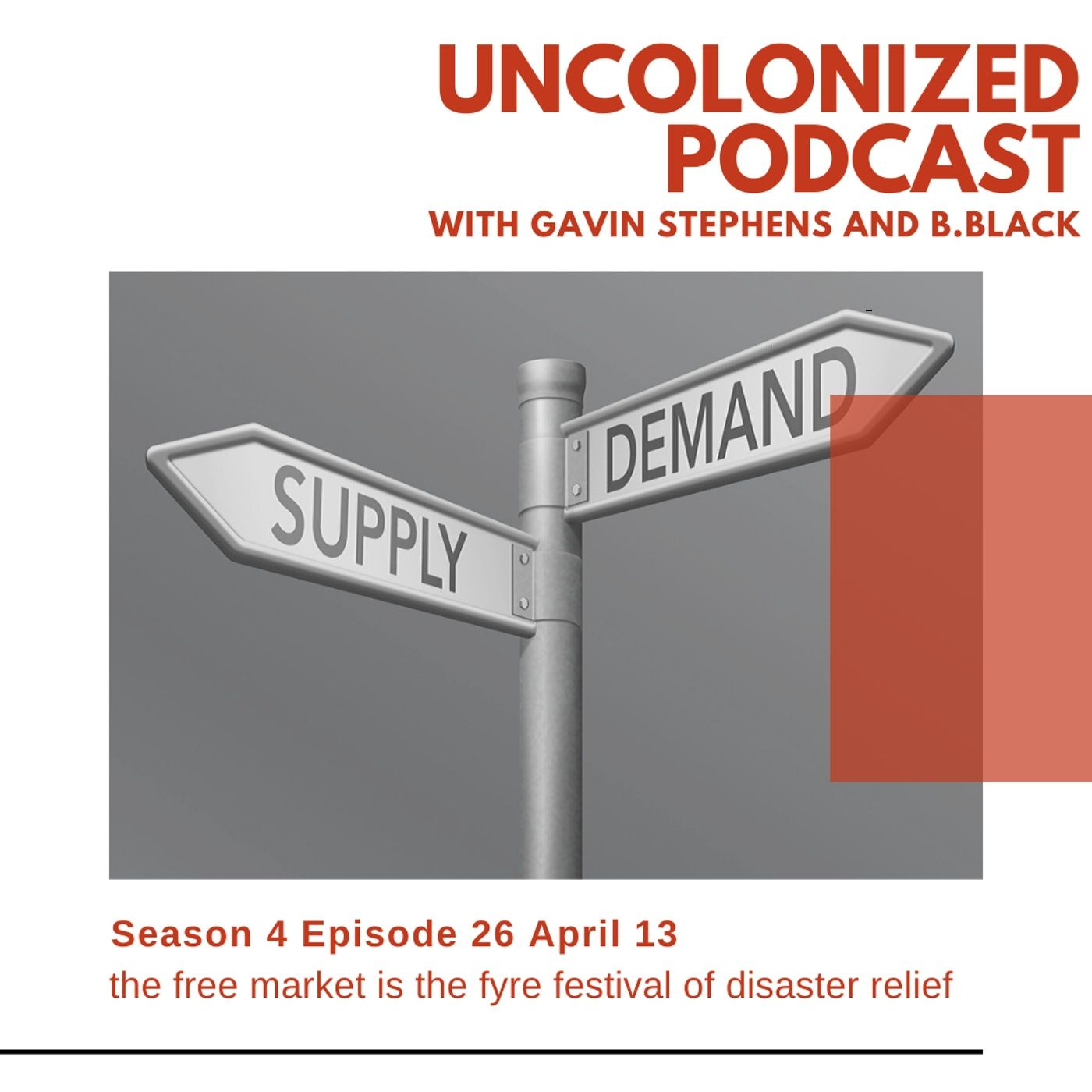 S04E26 - The Free Market is the Frye Festival of disaster relief