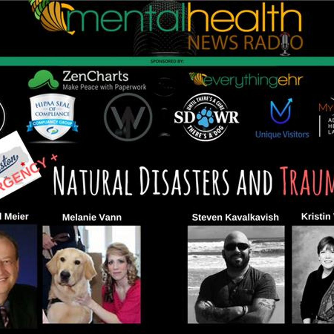 Mental Health News Radio - Round Table Discussions with Dr. Paul Meier: Natural Disasters and Trauma