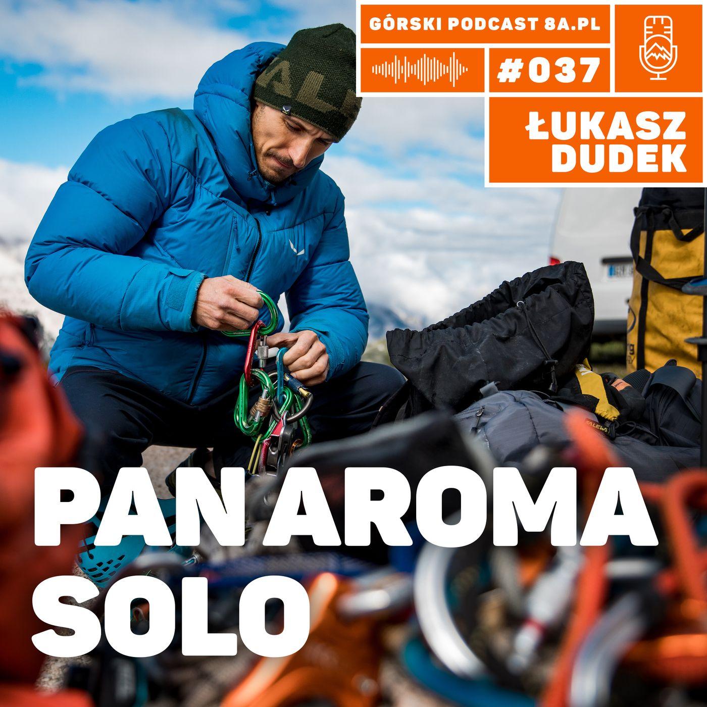 #037 8a.pl - Łukasz Dudek. Pan Aroma solo.