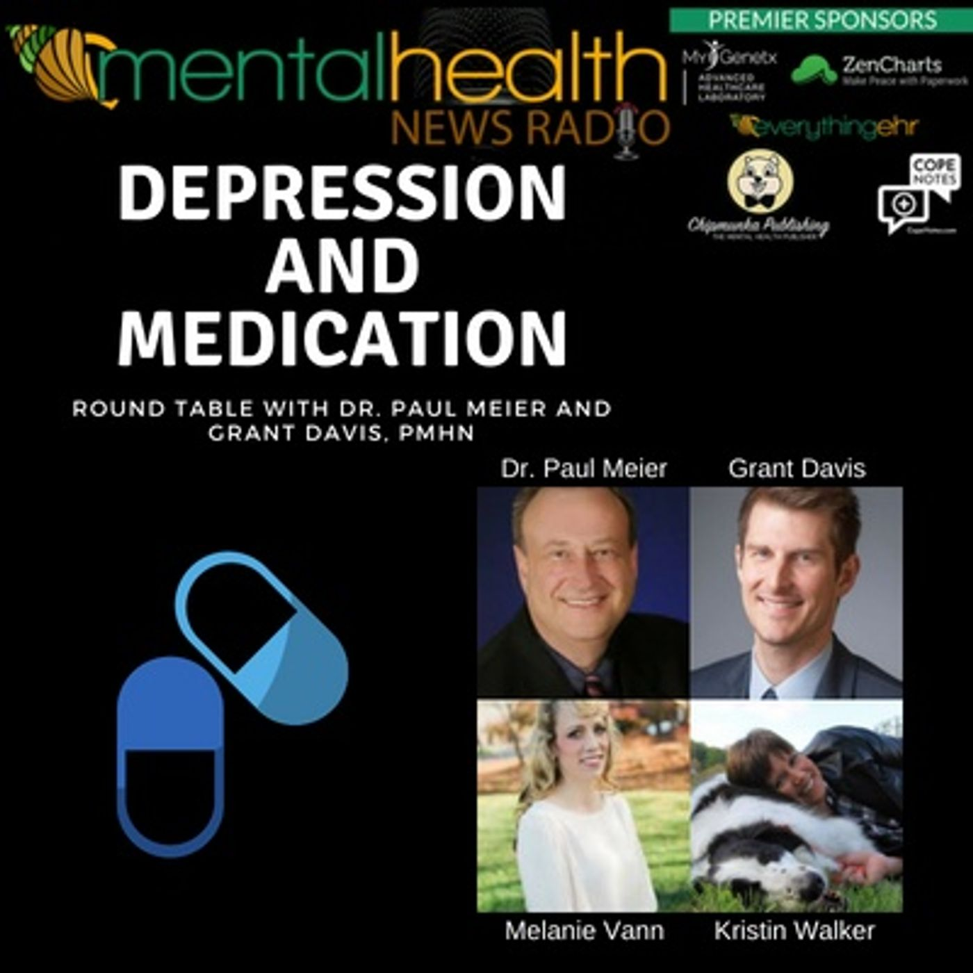 Mental Health News Radio - Round Table with Dr. Paul Meier: Depression and Medication