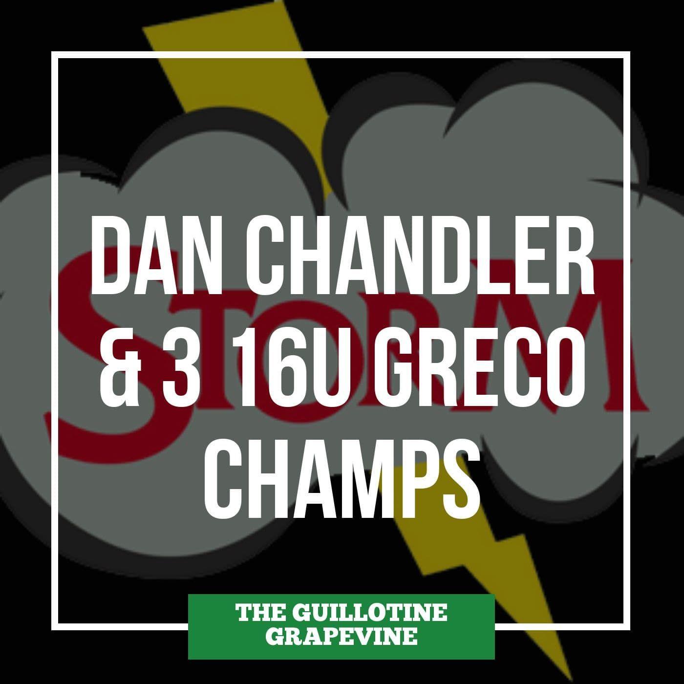 Dan Chandler talks #Fargo2019 after three Minnesota wrestlers win 16U Greco-Roman titles - GG60