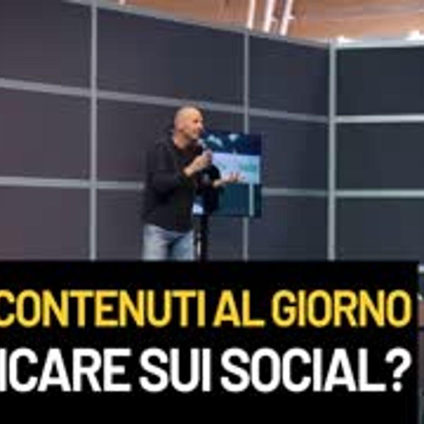 Quanti contenuti al giorno pubblicare sui social?