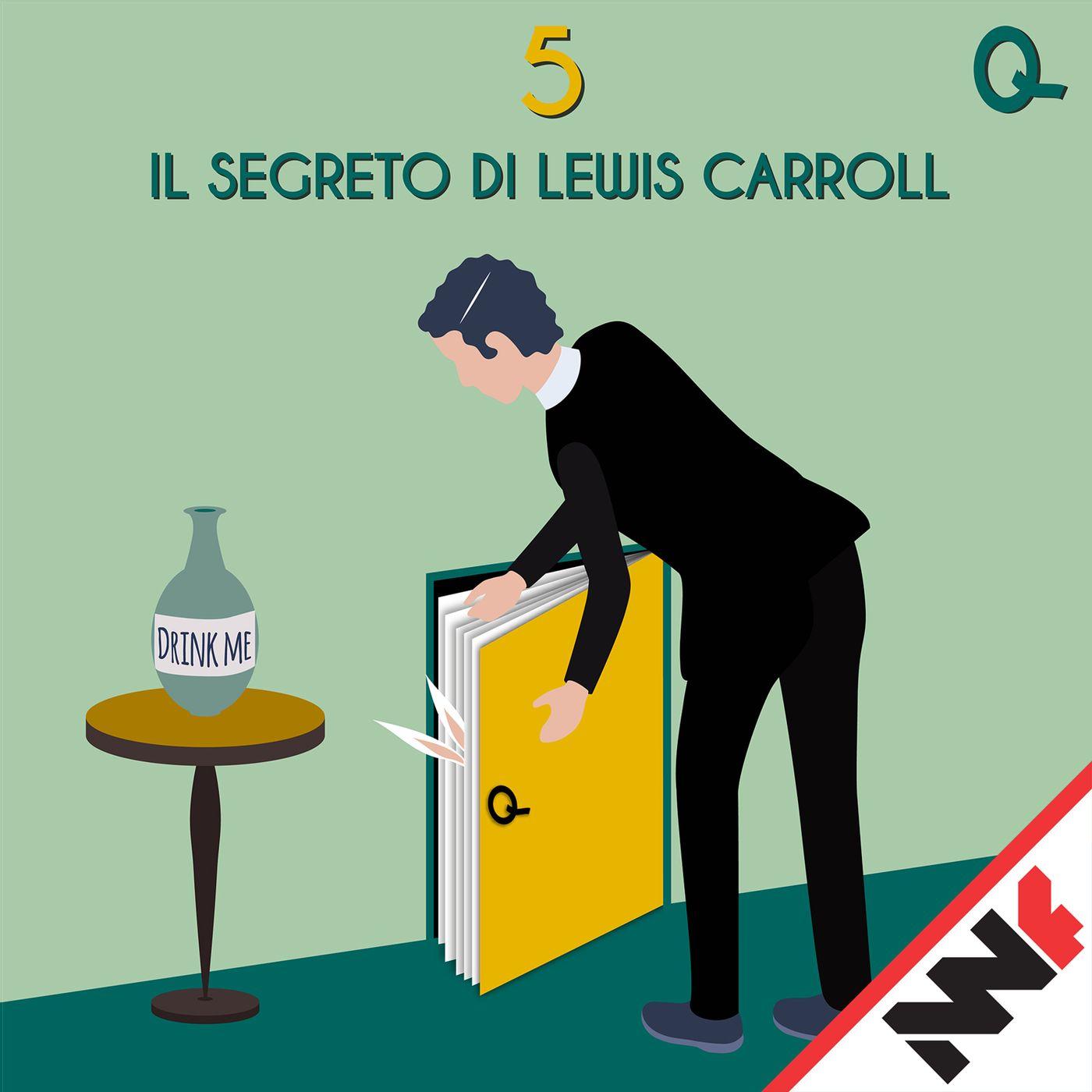 Il segreto di Lewis Carroll – Quarta di Copertina