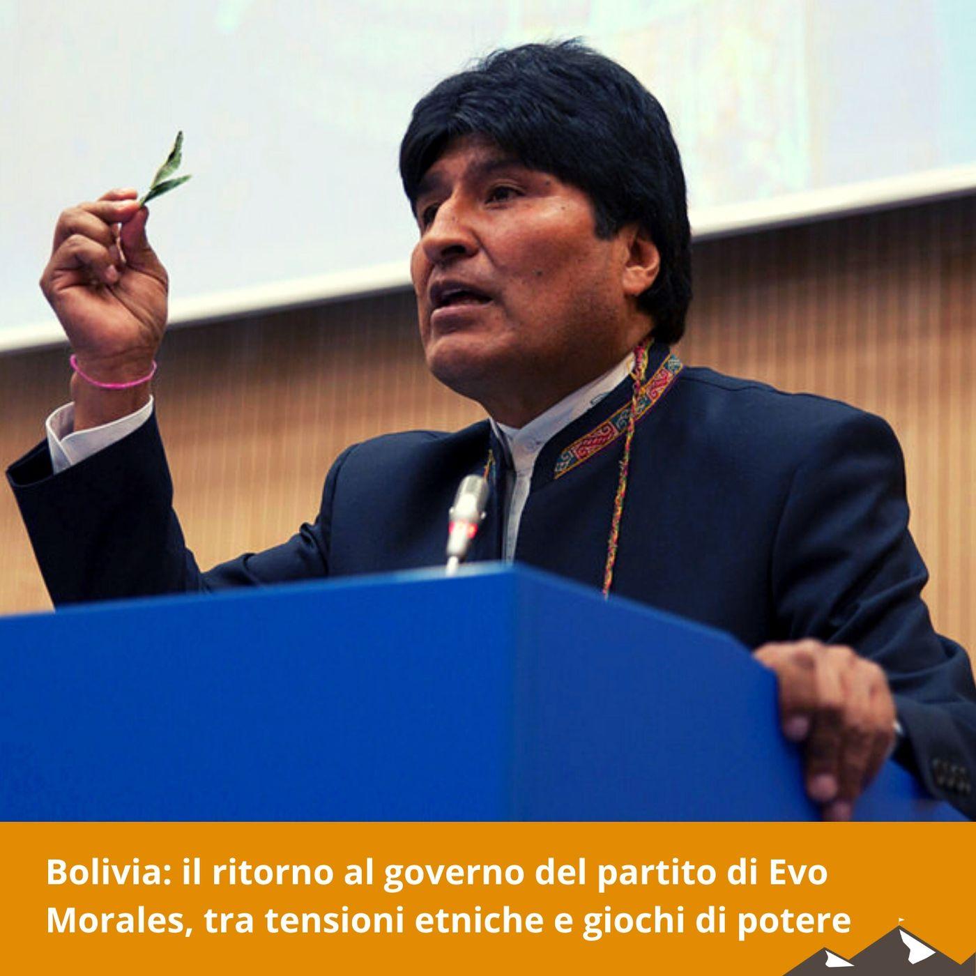 Bolivia: il ritorno al governo del partito di Evo Morales, tra tensioni etniche e giochi di potere
