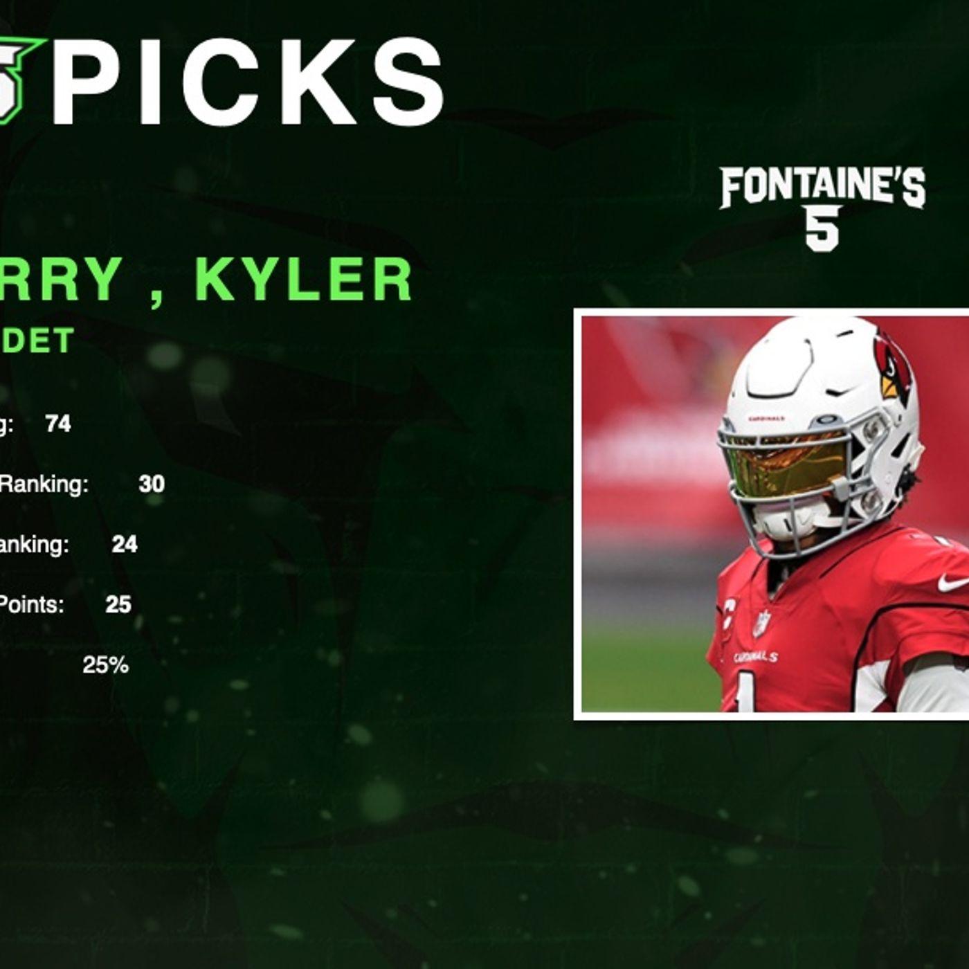 NFL Week3 DFS Picks