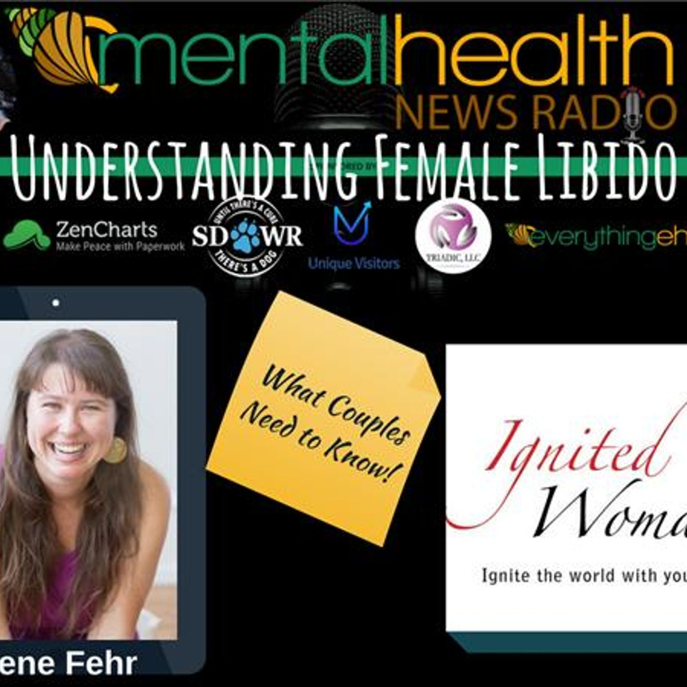 Mental Health News Radio - Understanding Female Libido: What Couples Need to Know with Irene Fehr
