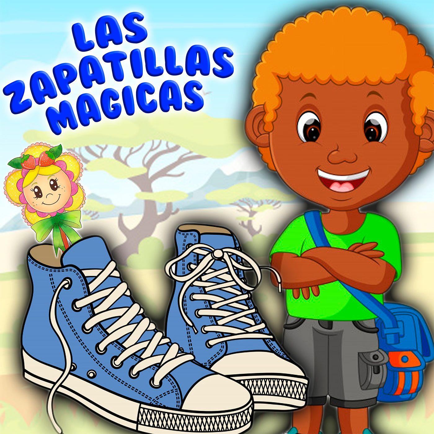66. Las zapatillas magicas. Cuento infantil de Hada de Fresa para aprender el esfuerzo. Cuento también en inglés