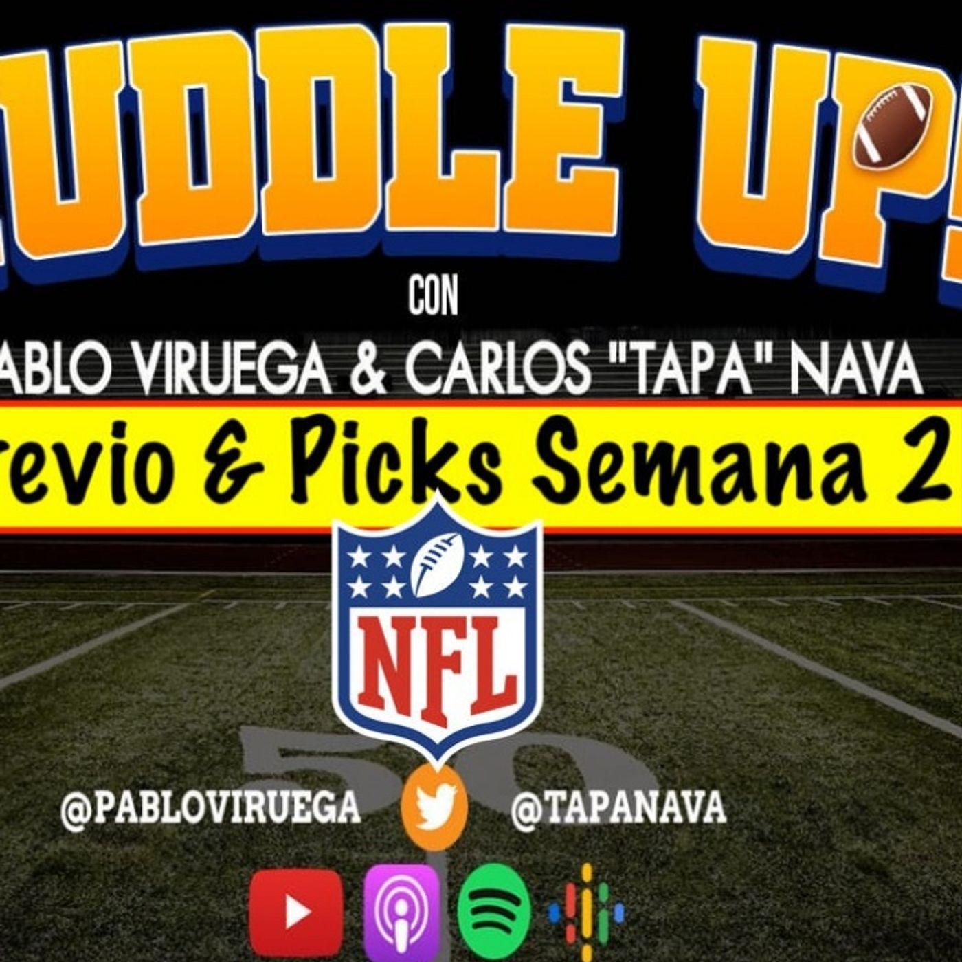 #HuddleUP Previo y Picks Semana 2 #NFL @TapaNava y @PabloViruega