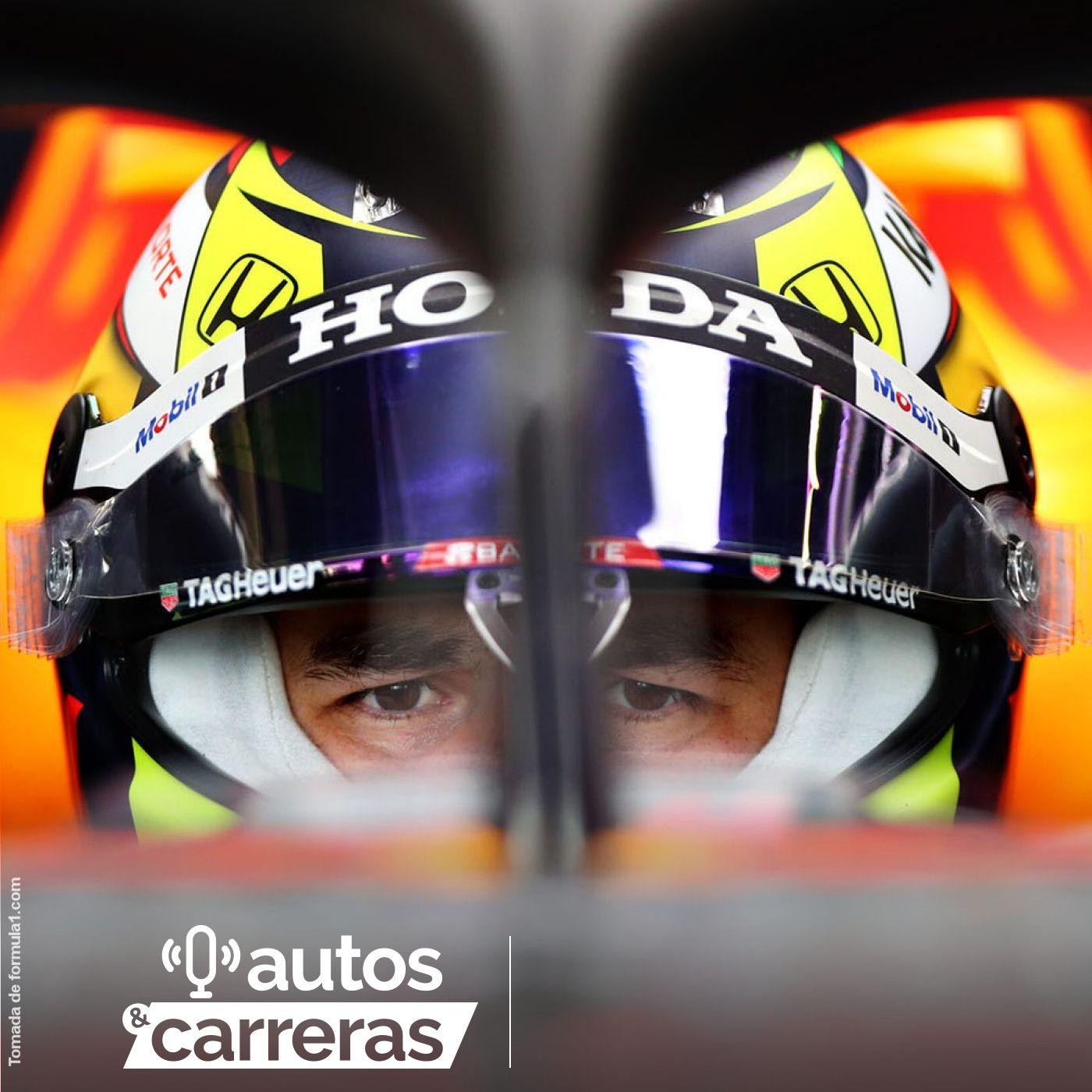 Así debutó Checo Perez con Red Bull Racing