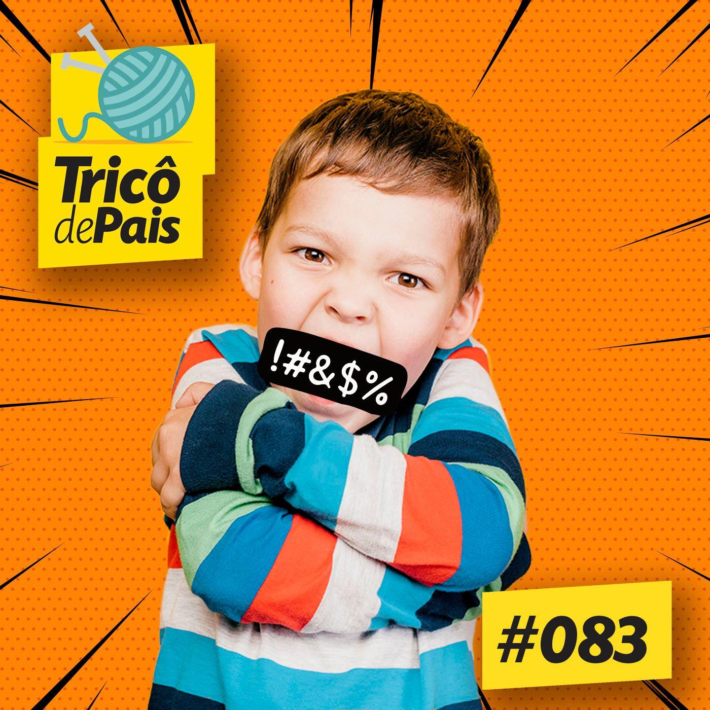#083 - Palavrão, Internet e os Cuspes pro Alto feat. Rita Lisauskas