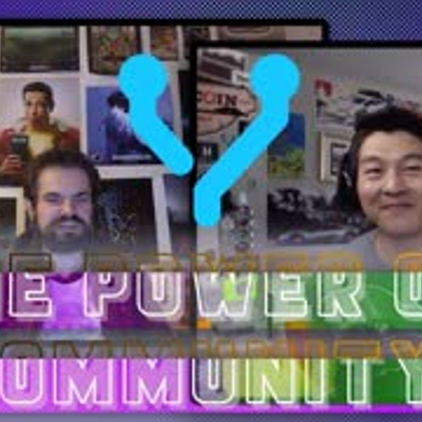 The Power of Community on YEN.io - @HEYAM Interviews @PETER - #YENIZENBUILT #YENIO