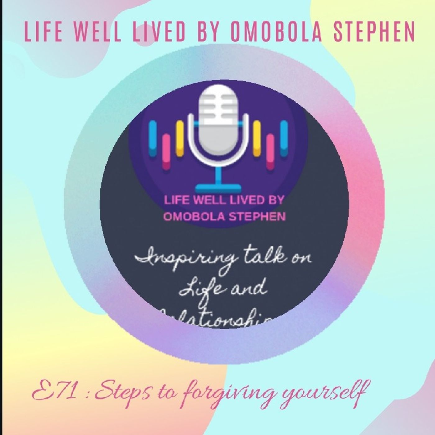 Episode 71: Steps To Forgiving Yourself