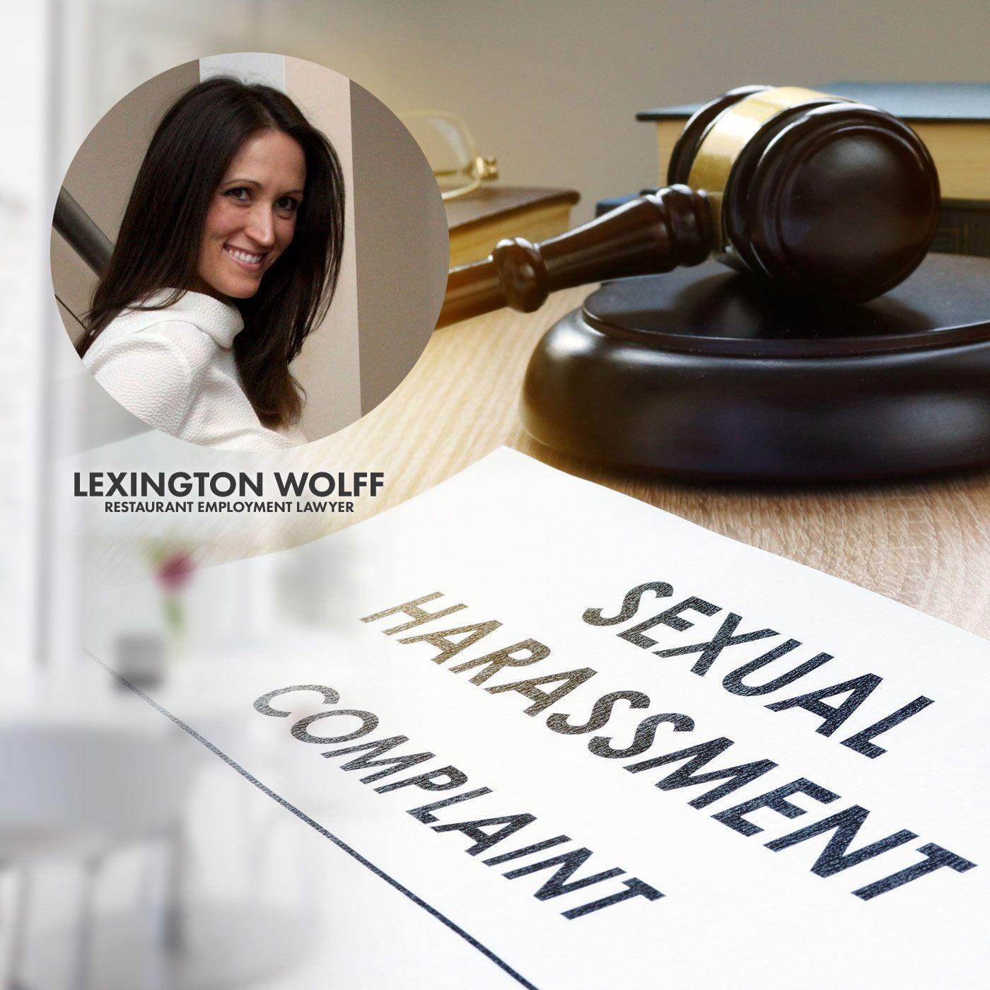 01. Handling a Sexual Harassment Complaint