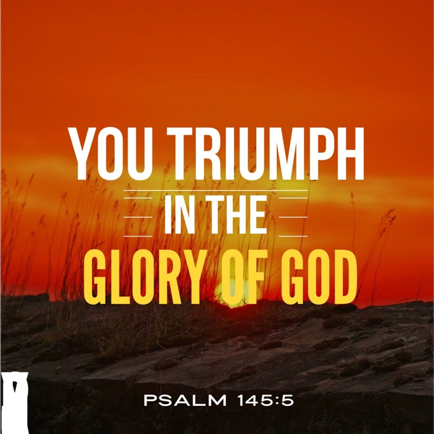 Prayer to Know God's Glory is Your Victory