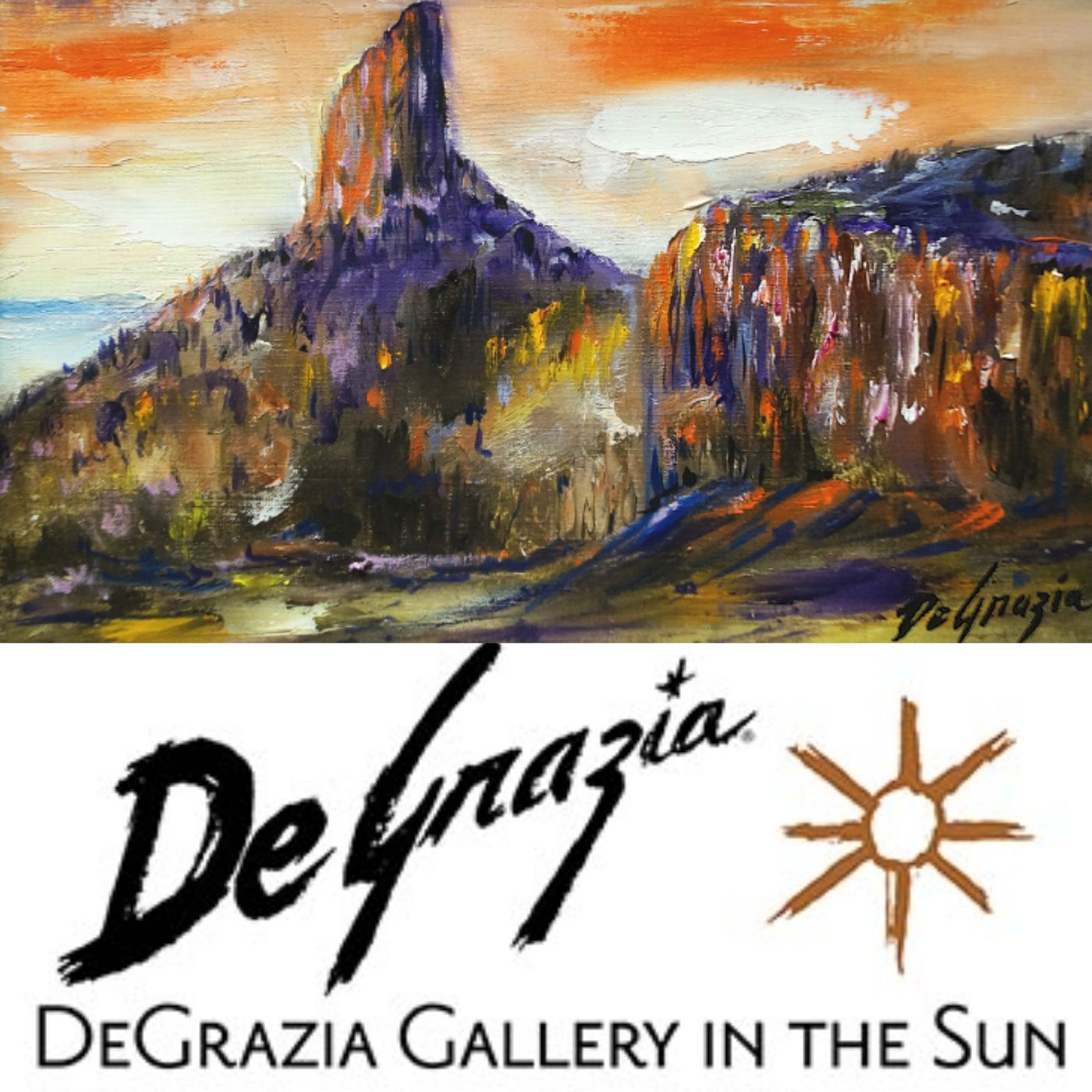 DeGrazia's Superstition Mountain Collection - Lance Laber on Big Blend Radio