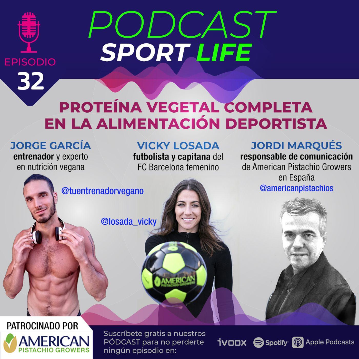 PODCAST SPL #32 - Proteína Vegetal Completa en la dieta deportista