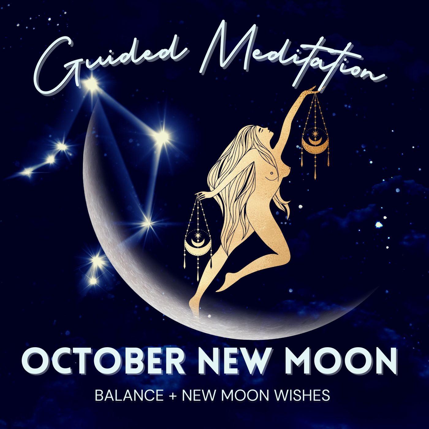 October New Moon Guided Meditation