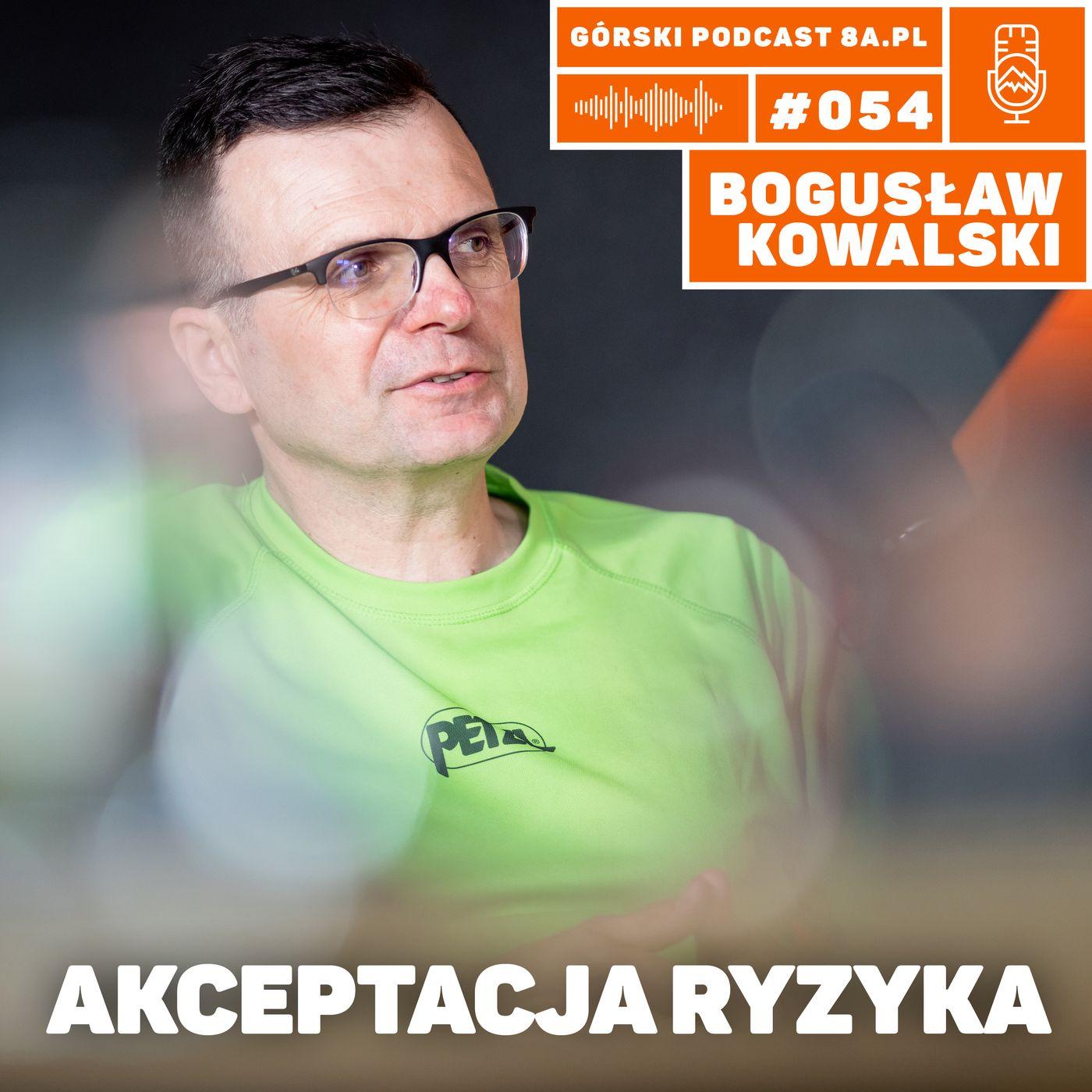 #054 8a.pl - Bogusław Kowalski. Akceptacja ryzyka w górach.
