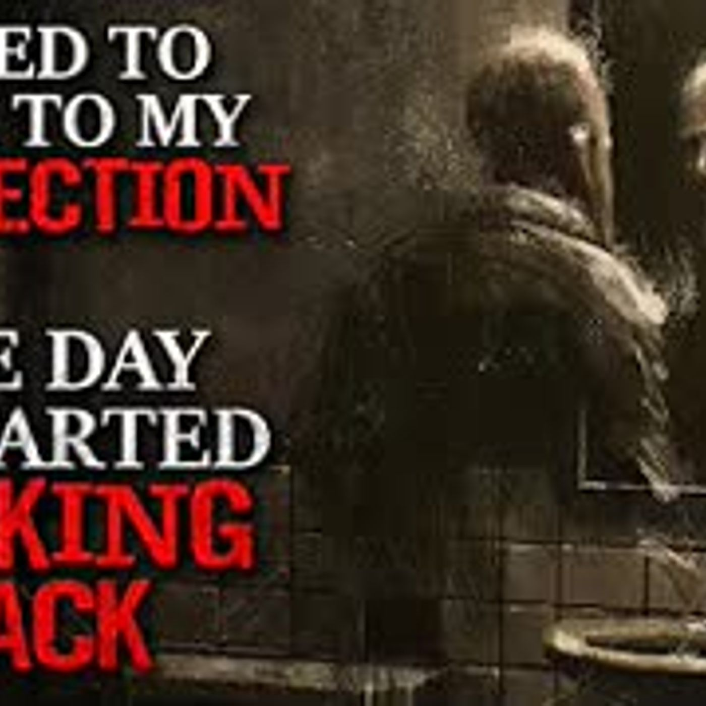 """""""I used to talk to my reflection until one day it started talking back."""" Creepypasta"""