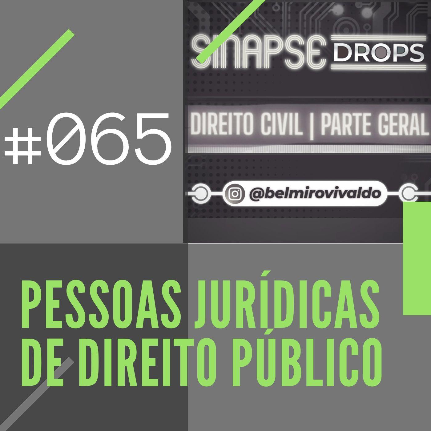 065   Pessoas jurídicas de Direito Público