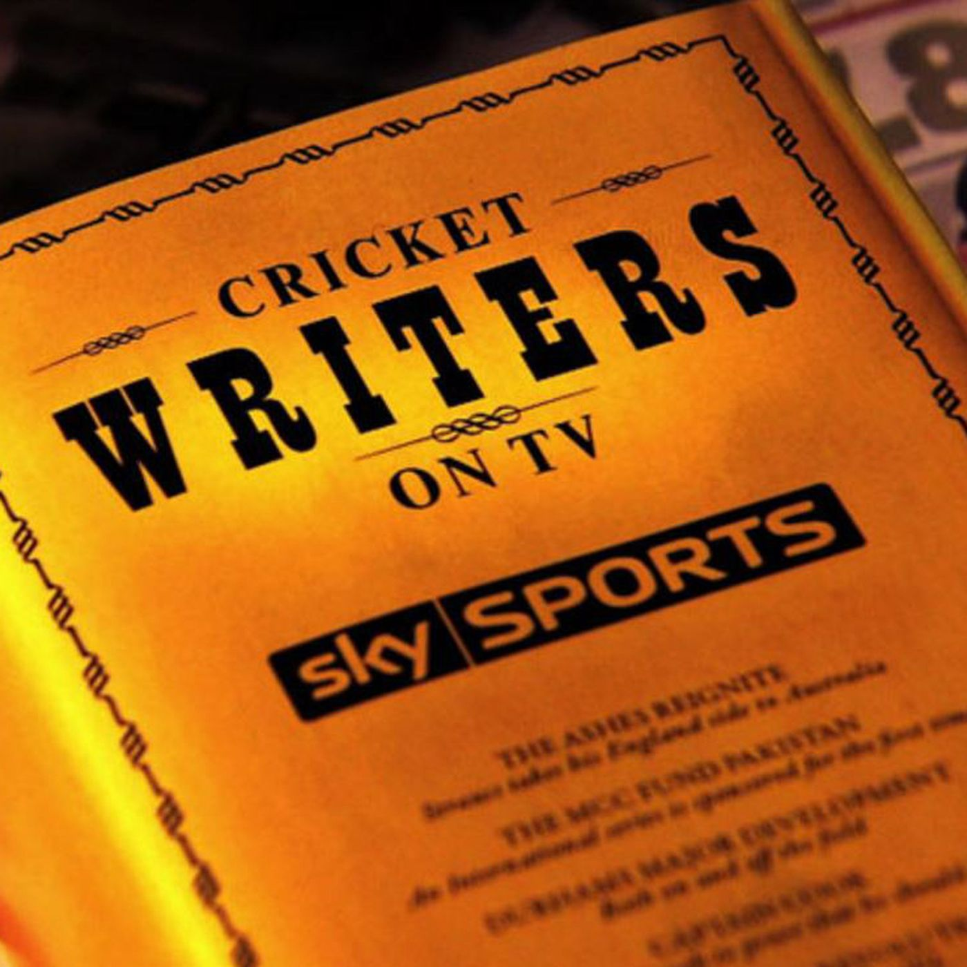 Cricket Writers Podcast - 4th June