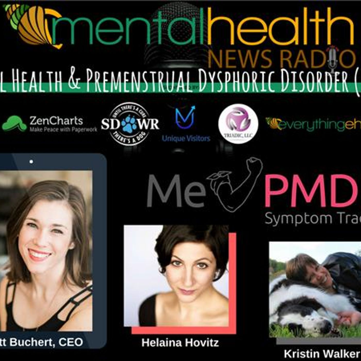 Mental Health News Radio - Mental Health & Premenstrual Dysphoric Disorder (PMDD) with Brett Buchert