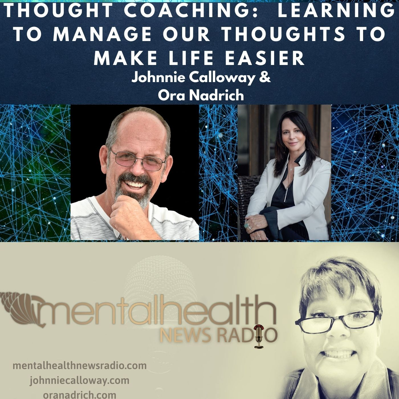 Mental Health News Radio - Thought Coaching: Learning to Manage our Thoughts To Make Life Easier