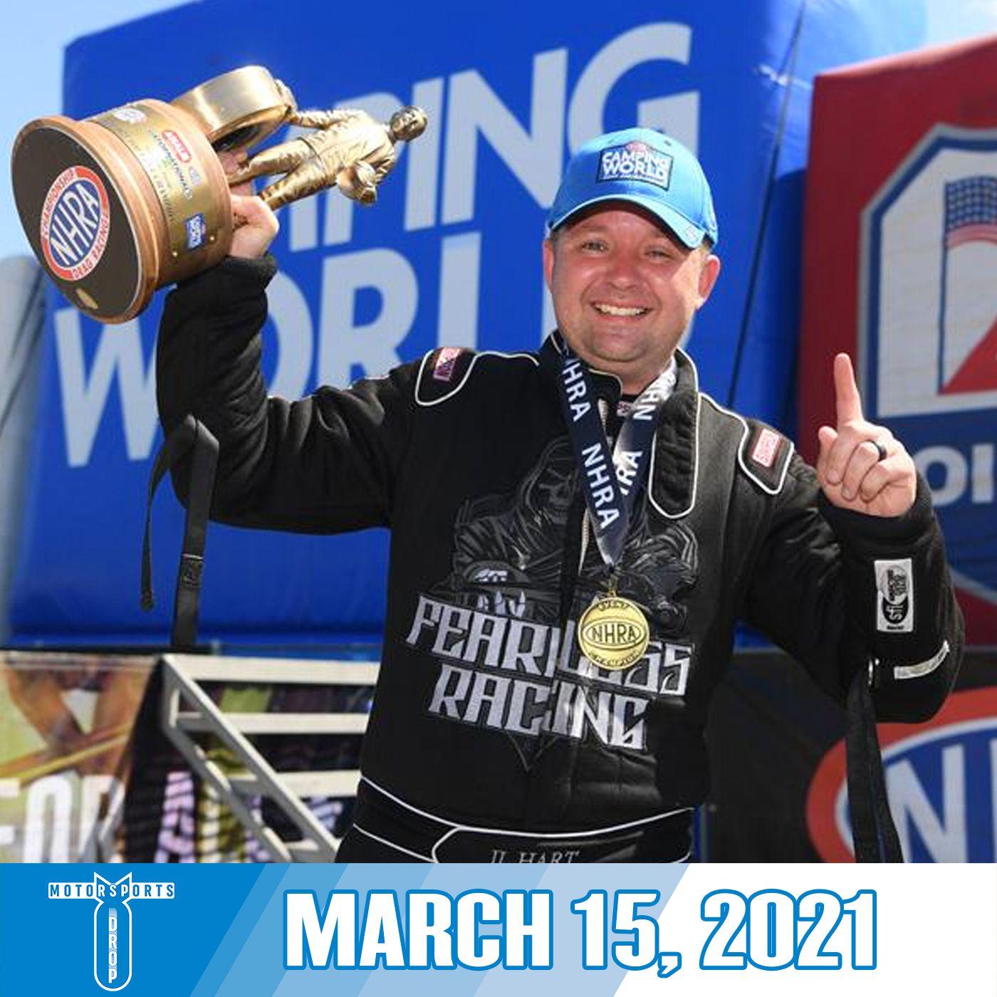 Motorsports Drop: March 15, 2021
