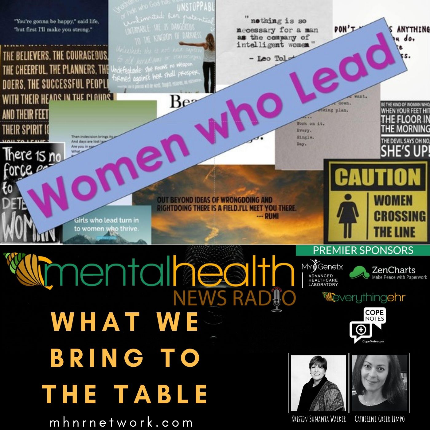 Mental Health News Radio - Women Who Lead: What We Bring to the Table