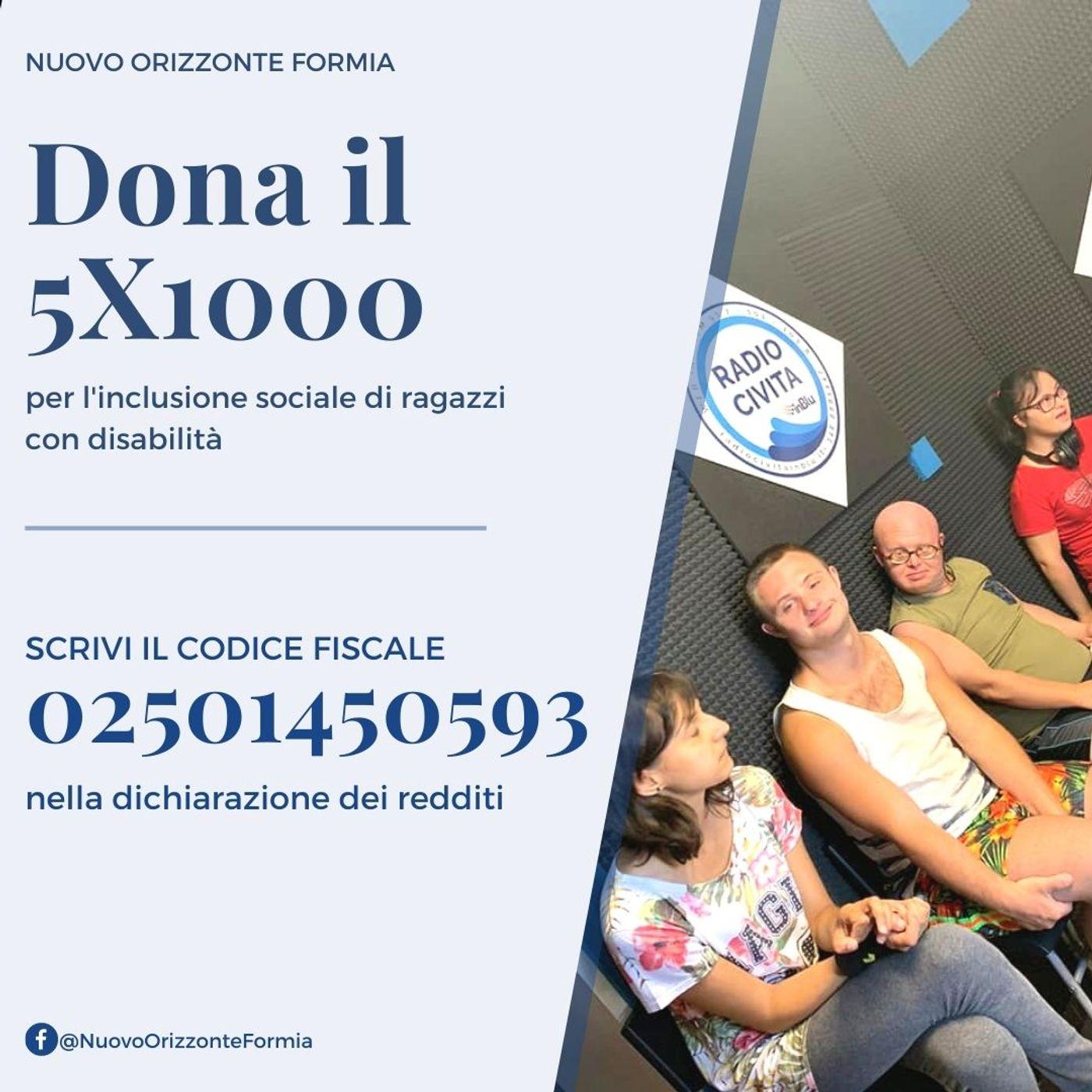 Spot 5XMille Nuovo Orizzonte Formia