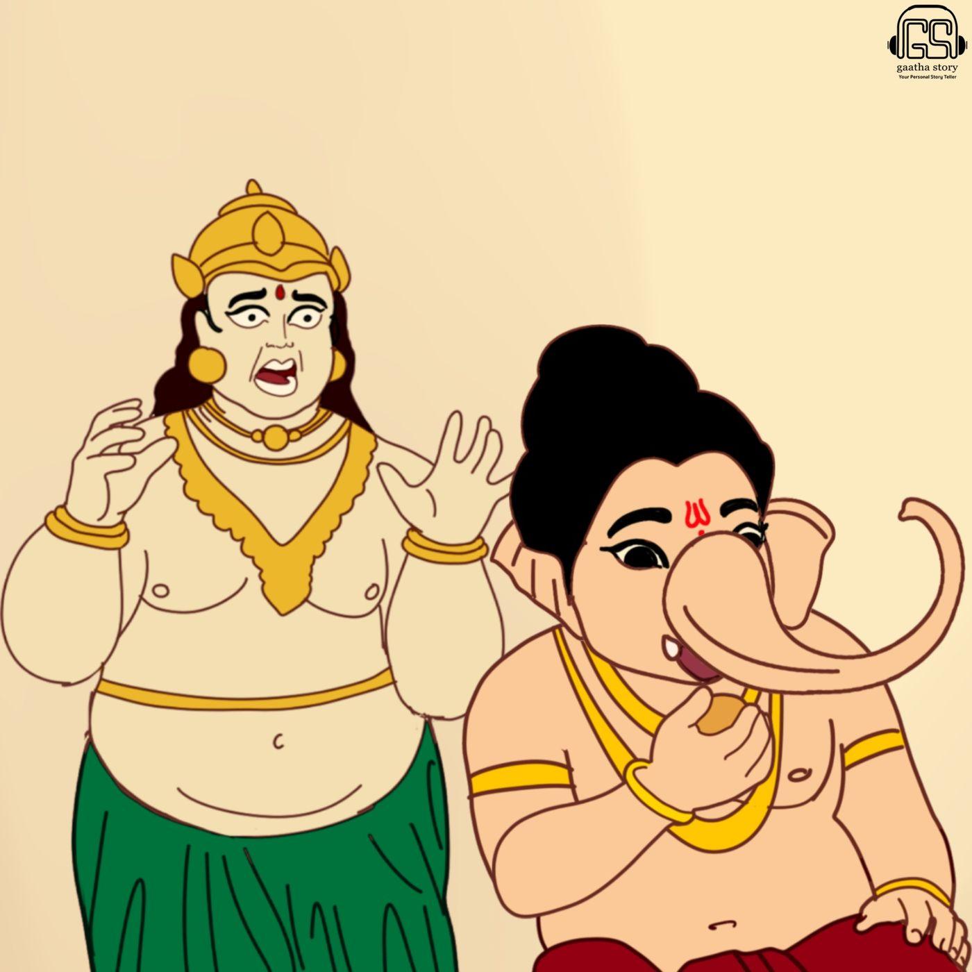 5: Ganesh and Kubera's Feast