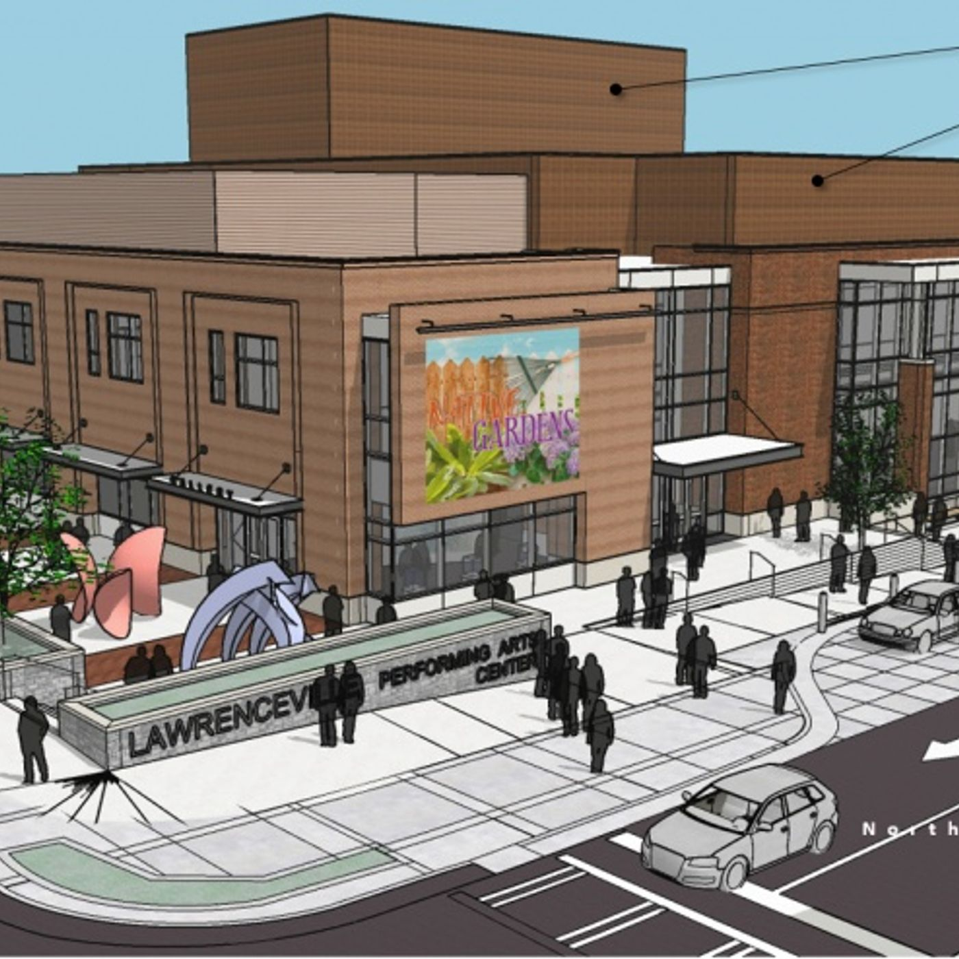 The Lawrenceville Performing Art Center Will Open Soon