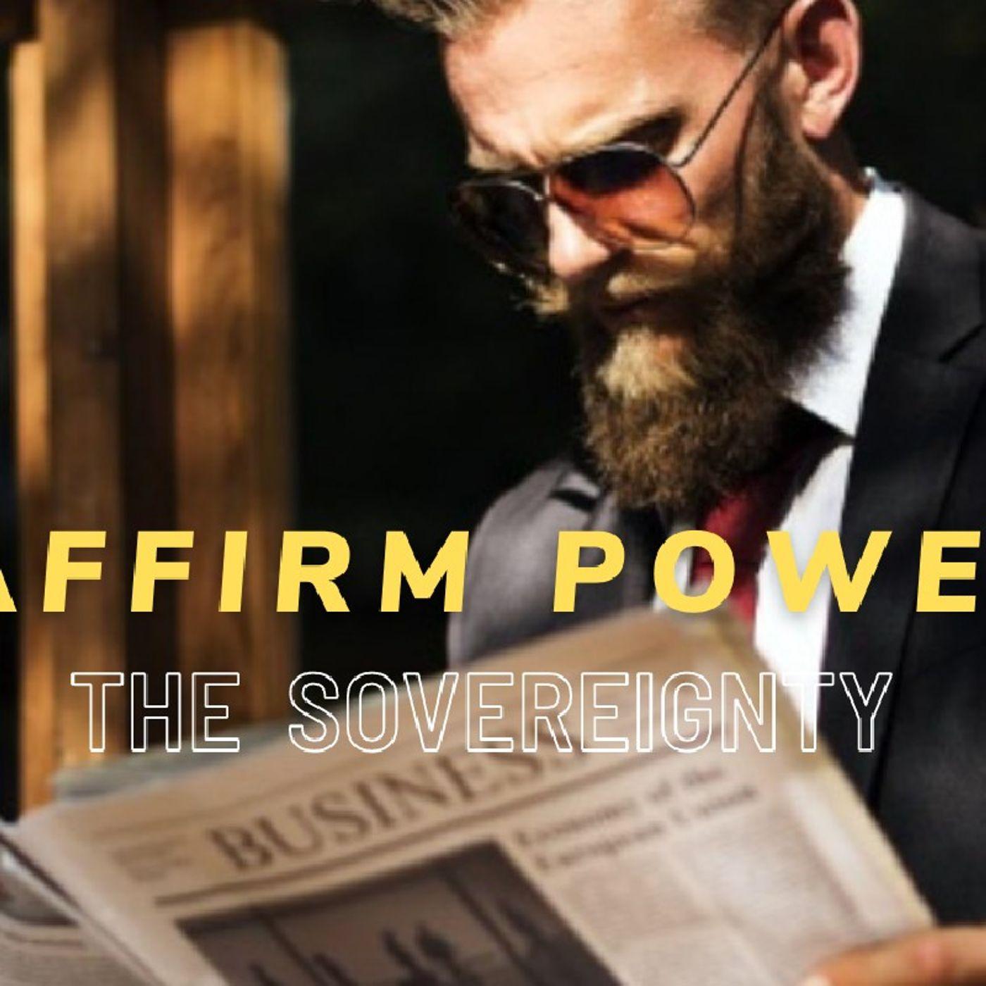 ACHIEVE POWER    THE SELF-AFFIRMING MAN